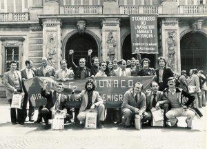 Rinascita partecipa al Congresso degli Emigrati a Torino (1997).